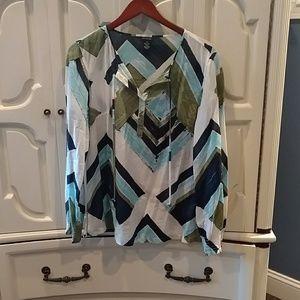 Sheer and light designer blouse